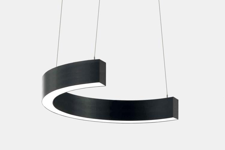 Серия Ring-C. Светодиодный светильник-полукольцо купить во Владивостоке